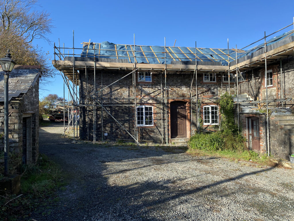 North Devon barn conversion project