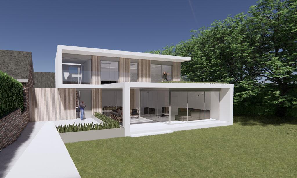 Contemporary Suburban Villa Barnstaple